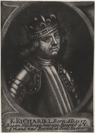 King Richard I ('the Lionheart')