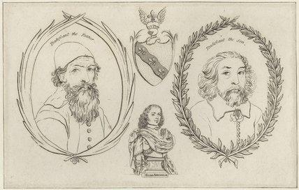 John Tradescant the Elder, John Tradescant the Younger, Elias Ashmole