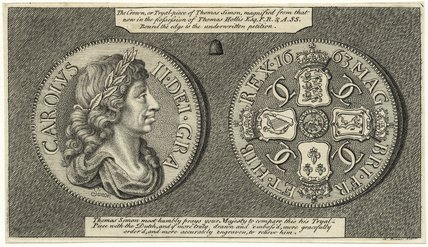 King Charles II (The trial crown piece of Charles II)