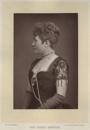Ellen Jeromina ('Mina') Beresford (née Gardner), Lady Beresford