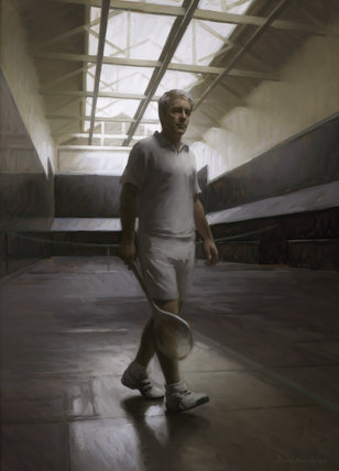 Rob Fahey on Court by Rupert Alexander