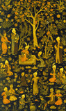 Book cover, detail. Persia, 16th century
