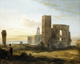 Holy Island, by John Varley