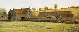 Tithe Barn, by George Price Boyce