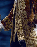Coat and waistcoat, detail. France, 18th century