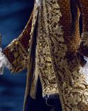 Coat and waistcoat, detail. France, 18th century
