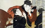 Lovers, by Kitagawa Utamaro