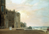 Windsor Castle, by Paul Sandby