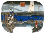 Distant View of Fireworks at Ryogoku, by Utagawa Hiroshige