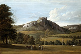 Curreg-Cennan Castle, by Paul Sandby