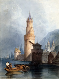 Tower & Mill, Andernach on the Rhine, by Clarkson Stanfield