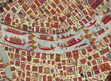 Textile, detail. India 19th century