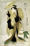 Segawa Senjio in the part of Shirotaye, by Toyokuni I