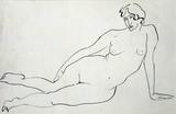 Female Nude, by Henri Gaudier-Brzeska