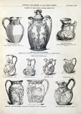 Water jugs. England, mid 19th century