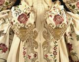 Mantua, detail. England, 18th century
