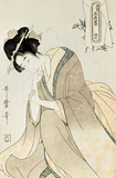 Courtesan, by Kitagawa Utamaro