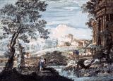 Landscape, by John Baptist Jackson