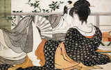 The Poem of The Pillow, by Kitagawa Utamaro