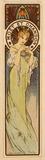Advertisement of Moët & Chandon, by Alphonse Mucha