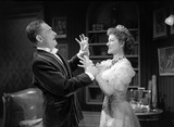 A man and a woman fighting in My Fair Lady, photo Houston Rogers