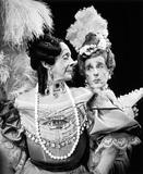 Robert Helpmann and Frederick Ashton as The Ugly Sisters in Frederick Ashton's ballet Cinderella for The Royal Ballet Co