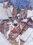 It must have been Old St Nick, by Arthur Rackham