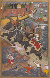 Akbar's Adventures with the Elephant Hawai in 1561