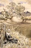 The Quietest and Fittest Place for Contemplation, by Arthur Rackham