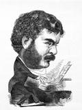 Caricature of Sir Arthur Sullivan, by Arthur Bryant