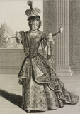 Mademoiselle Subligny dansant a l'Opera
