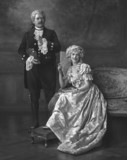 Portrait of General R. Blue and Miss M. Sanger
