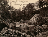 Bettws-y-Coed, Fairy Glen, photo Francis Frith & Co