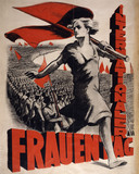 Internationale Frauentag, International Women's Day, by Emery P. Reves-Biro