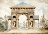 Design for a Park Gate, by Sir William Chambers