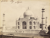 The Taj Mahal, photo Francis Frith