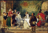 Sancho Panza Tells a Tale to the Duke and Duchess, by William Powell Frith