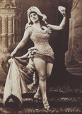 Harriet Vernon in tights, photo W&D Downey Photographers