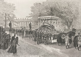 Funeral of His Majesty the Emperor of Germany, by Richard Davey