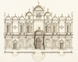 Drawing of the Scuola di San Marco