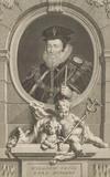 Portrait of the Statesman William Cecil, Lord Burleigh, Chief Advisor to Queen Elizabeth I