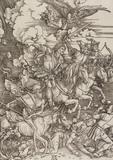 Four Horsemen of the Apocalypse, by Albrecht Dürer