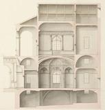 Drawing of the Palazzino in Corte di Ca'Loredano