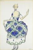 Costume design for Felicita, by Leon Bakst