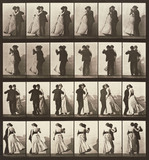 Dancing walz, photo Eadweard Muybridge