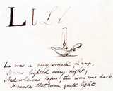 The letter L, by Edward Lear