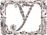 Initial Y, by Francesco Giovanni Cresci