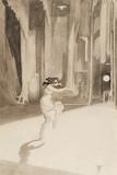 Isadora Duncan, by Edward Gordon Craig