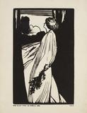 Miss Ellen Terry as Ophelia in Hamlet, by Edward Gordon Craig