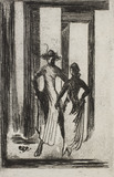 Sketch for Dancers, by Edward Gordon Craig